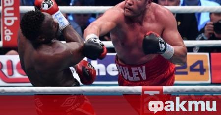Най-добрият български боксьор Кубрат Пулев отговори подобаващо на коментарите на