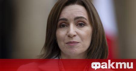 Държавният глава на Молдова Мая Санду ще продължи да възпрепятства