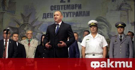 Президентът Румен Радев беше в Тутракан, който чества 80 години