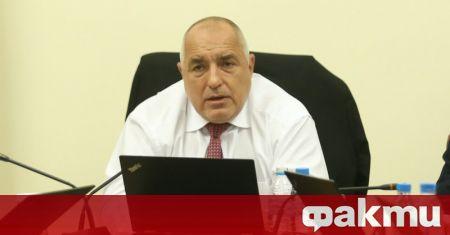 Министър-председателят Бойко Борисов проведе разширено съвещание с министъра на регионалното
