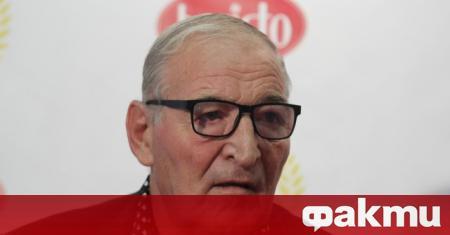 Почетният президент на ЦСКА Димитър Пенев направи кратък коментар пред