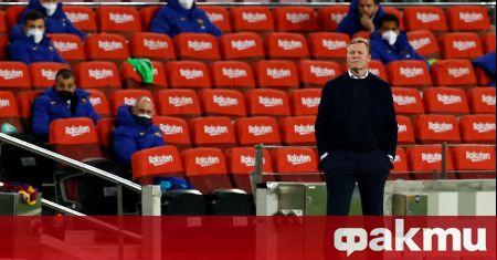 Старши треньорът на Барселона обясни защо според него каталунците допуснаха