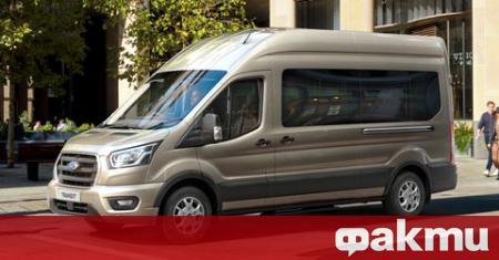 Ford обяви, че започва да оборудва европейската версия на Transit