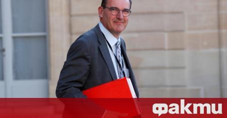 Новият премиер на Франция е Жан Кастекс, съобщи France 24.