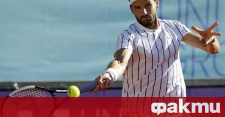 Най-добрият български тенисист - Григор Димитров, записа първа победа на