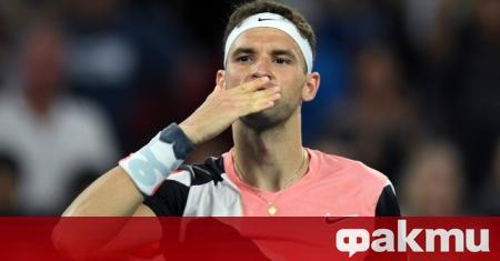 Най-добрият ни тенисист Григор Димитров ще играе на предстоящия турнир
