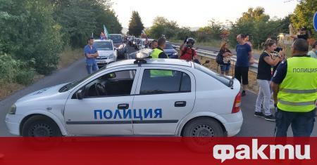 """Пътят Стара Загора - Хасково, който води към АМ """"Тракия"""