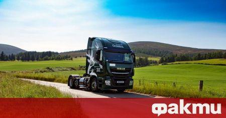 Шотландският производител на уиски Glenfiddich започна да преобразува камионите си