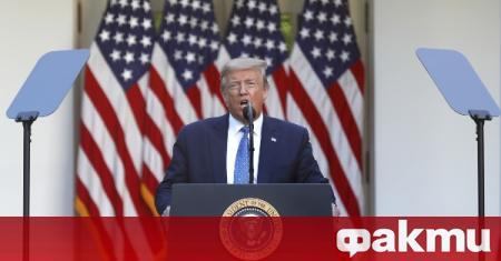 Американският държавен глава Доналд Тръмп заяви, че би приел ядрен