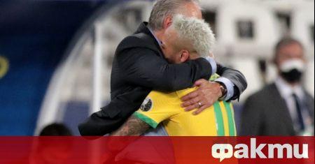 Неймар отбеляза 68-ия си гол за Бразилия при победата с