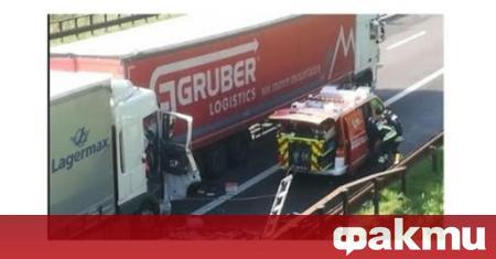 Български шофьор на 67-годишна възраст загина в катастрофа. Тойе спял