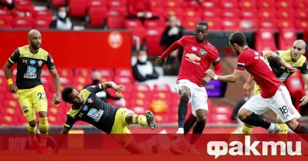Манчестър Юнайтед изпусна шанса да излезе на трето място в