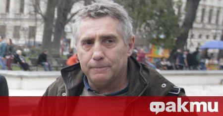 Ужасна лична трагедия сполетя актьора Валентин Танев. Той наскоро е