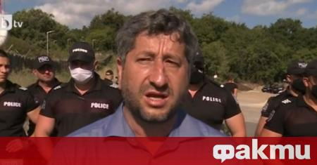 "Протестът, организиран от Христо Иванов под мотото ""масово ходене на"