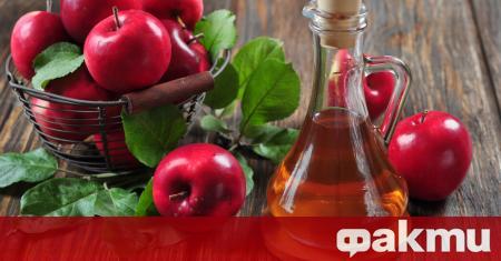 Натуралният ябълков оцет има редица полезни свойства. Ако искате да