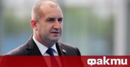 Държавният глава Румен Радев и вицепрезидентът Илияна Йотова ще посетят