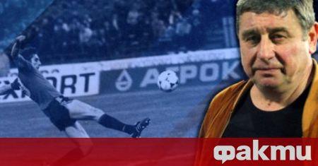 Бившият треньор и футболист на Левски Михаил Вълчев коментира състоянието