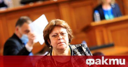 Председателят на парламента Ива Митева не успя да се справи