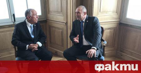 Президентът на Португалия Марсело Ребело де Соуза е на официално