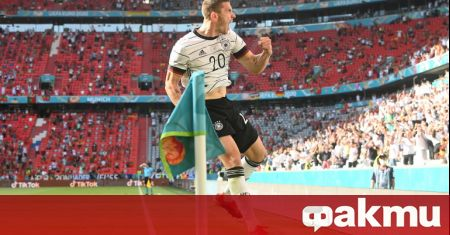 Един германски национал впечатли феновете на футбола при победата на