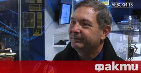Андрей Аспарухов - син на легендата на Левски Георги Аспарухов