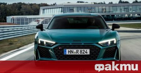 Audi R8 получи нова специална версия, наречена Green Hell, която