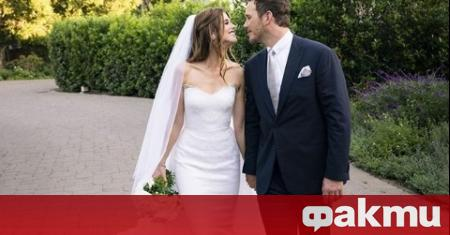 Американският актьор Крис Прат и съпругата му - наследницата от