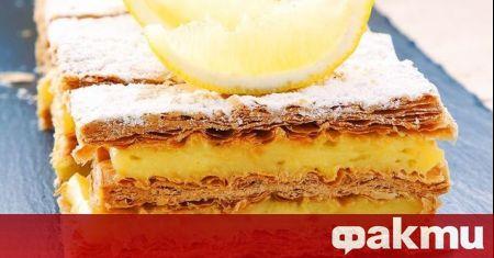 Милфьой е познат като френски десерт, но неговият истински произход