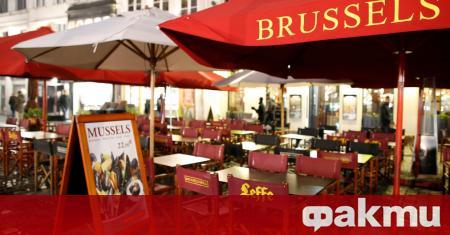 От понеделник в Белгия отварят врати ресторантите и кафенета, но