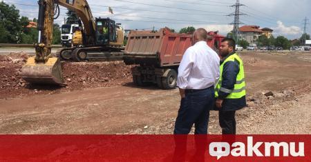 Строителството на Южната дъга на Софийския околовръстен път в участъка