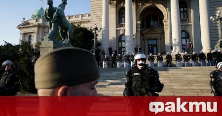 Посланикът на Азербайджан беше задържан в Белград, съобщи ТАСС. Дипломатически