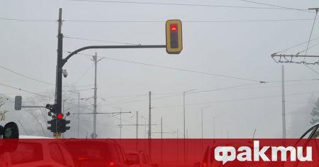 София тази сутрин е в лилавия сектор по замърсяване на
