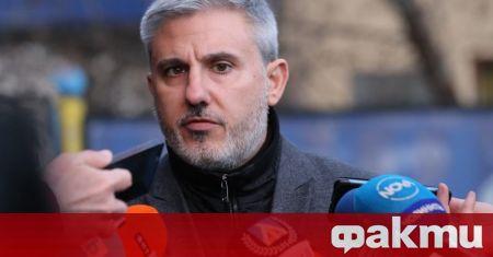 Изпълнителният директор на Левски Павел Колев взе отношение по казуса