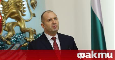 Президентът Румен Радев направи официално обръщение към пълнолетната част от