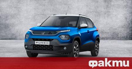 Tata показа най-новия си модел, носещ името Punch, който ще