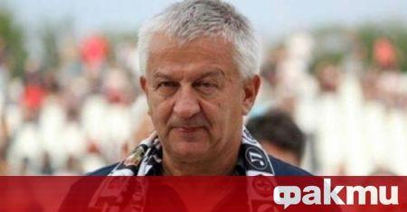 Христо Крушарски говори след победата с 3:1 над Хебър. Собственикът
