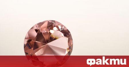 Пурпурно-розовият диамант
