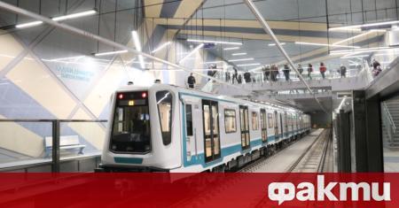 Третата линия на столичното метро ще заработи до края на