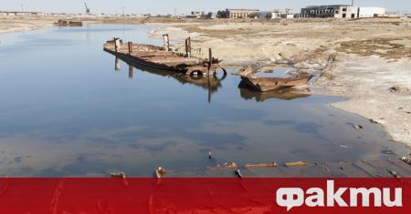 През миналия век Аралско море беше четвъртото по големина езеро