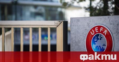 УЕФА работи по нов протокол относно борбата с коронавируса на