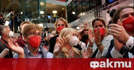 Очаквано социалдемократическата партия печели парламентарните избори в Германия с 26