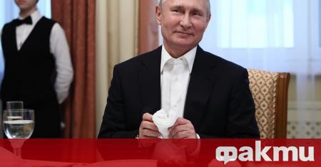 Руският президент Владимир Путин одобри представения му