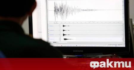 Земетресение с магнитуд 2.5 по Рихтер е регистрирано в района