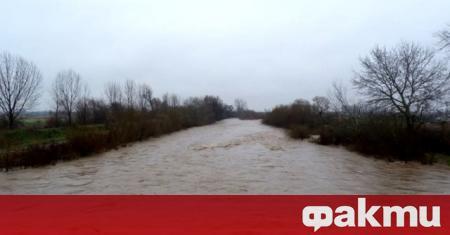 Повишаване на нивото на река Арда се наблюдава на гръцка