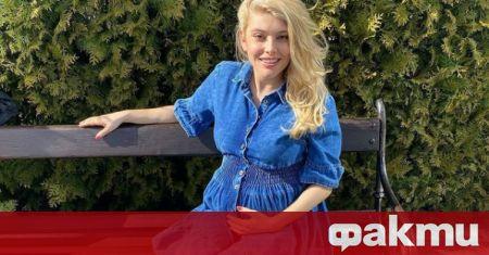 Телевизионната водеща Ева Веселинова вечре е горда майка на близнаци.