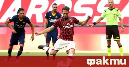Отборът на Милан спечели дербито на 28-ия кръг на Серия