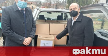 Посолството на България в Република Северна Македония предостави на община