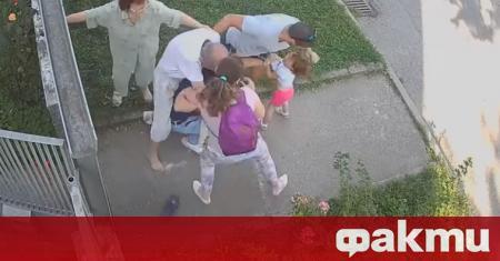 Видеоклип с шокиращо съдържание се разпространява в социалните мрежи. Кадрите