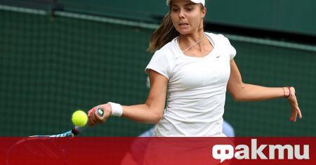 Виктория Томова се класира за втория кръг на ITF турнира