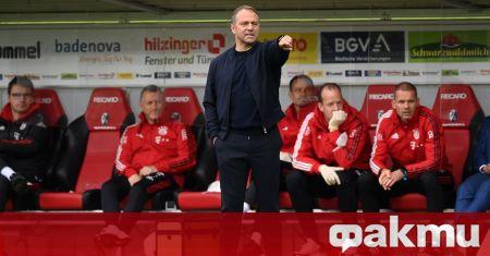 Старши треньорът на Байерн Мюнхен Ханзи Флик няма да бърза